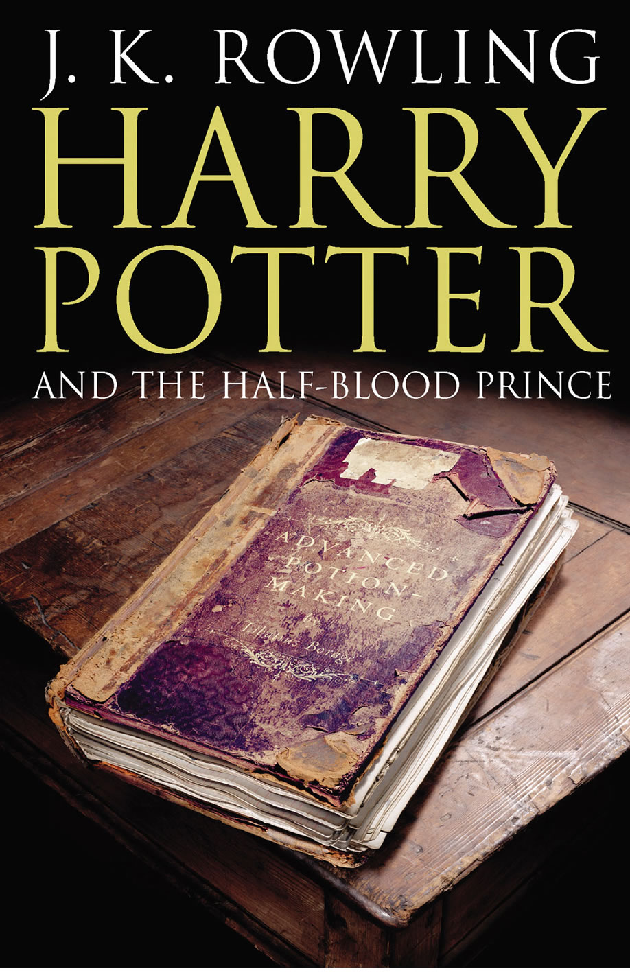Harry Potter Book Cover Half Blood Prince ~ Twwn harry potter books and the half